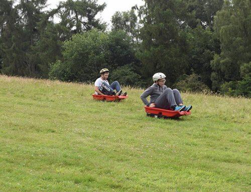 Grass Sledging