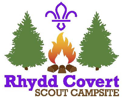 Rhydd Covert Scout Campsite Logo